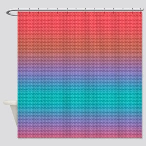 Evening In The City Shower Curtain