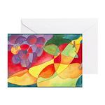 Fruit Watercolor Greeting Cards (Pk of 20)