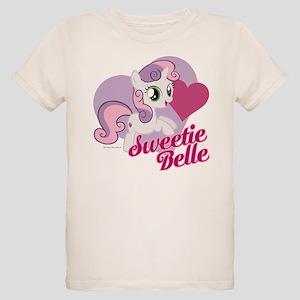 My Little Pony Sweetie Belle Organic Kids T-Shirt