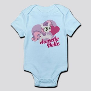 My Little Pony Sweetie Belle Baby Light Bodysuit