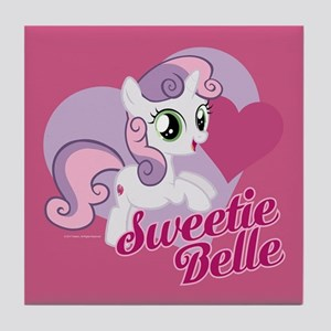 My Little Pony Sweetie Belle Tile Coaster