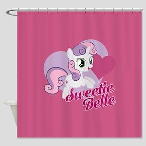 My Little Pony Sweetie Belle Shower Curtain