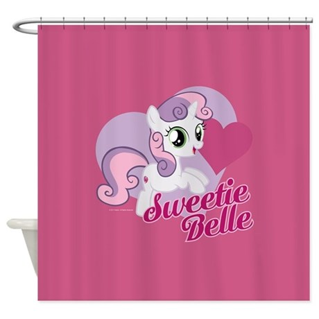 My Little Pony Sweetie Belle Shower Curtain By Mylittlepony
