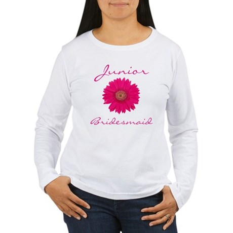 Junior Bridesmaid Women's Long Sleeve T-Shirt