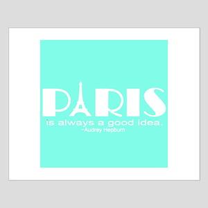 Paris Audrey Hepburn Mint Green Posters
