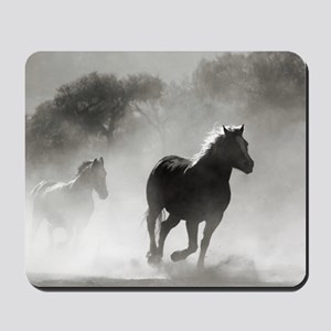 Galloping Horses Mousepad