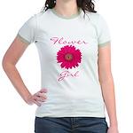 Flower Girl Jr. Ringer T-Shirt