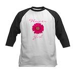 Flower Girl Kids Baseball Jersey
