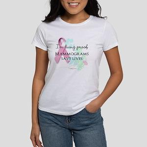 Proof Mammograms Save Lives! T-Shirt