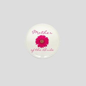 Fuchsia Mother of the Bride Mini Button