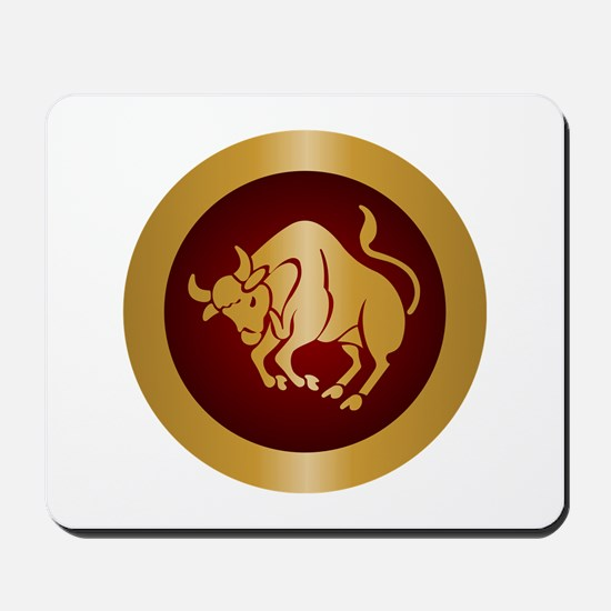 Taurus Gold Mousepad