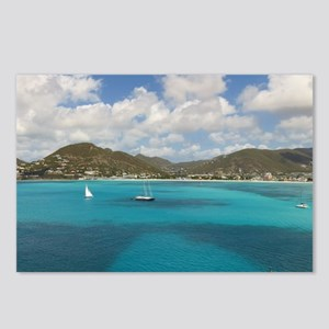 St. Martin Postcards (Package of 8)