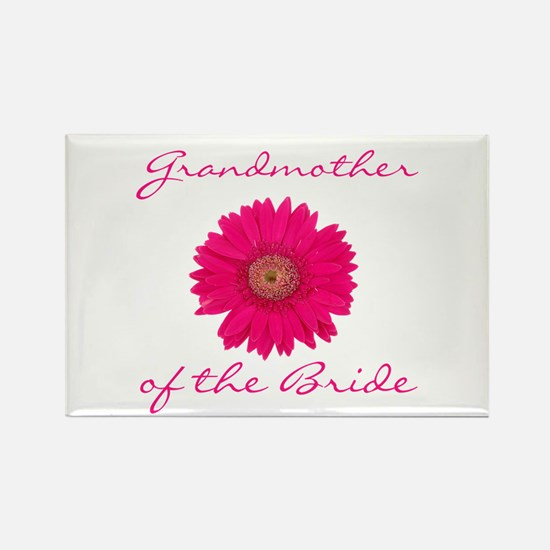 Bride's Grandmother Rectangle Magnet