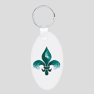 Tulane Fleur-De-Lis Keychain Keychains