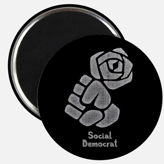 Social Democrat 1017 Magnet