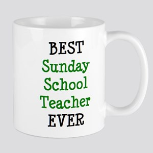 best sunday school teacher 11 oz Ceramic Mug