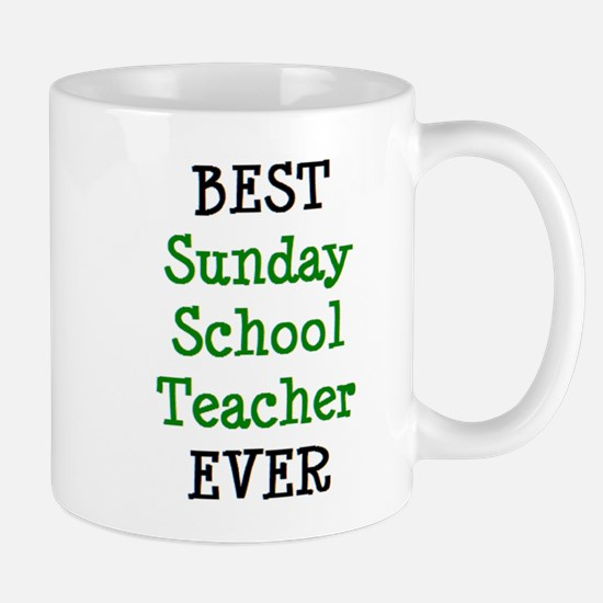 best sunday school teacher Mug
