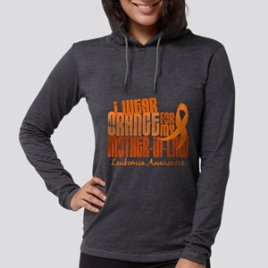 I Wear Orange 6.4 Leukemia Long Sleeve T-Shirt