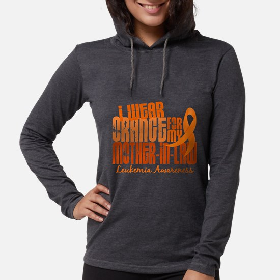 I Wear Orange 6.4 Leukemia Long Sleeve T-Shirt