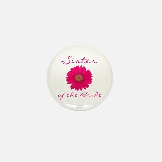 Sister of the Bride Mini Button