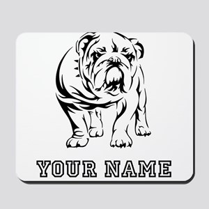 Bulldog (Custom) Mousepad