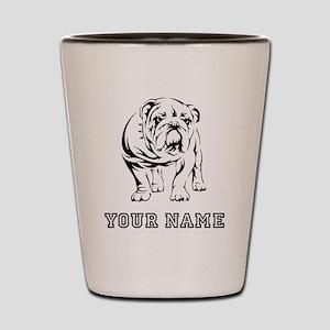 Bulldog (Custom) Shot Glass