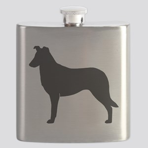 Smooth Collie Flask