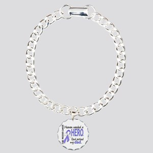Prostate Cancer HeavenNe Charm Bracelet, One Charm
