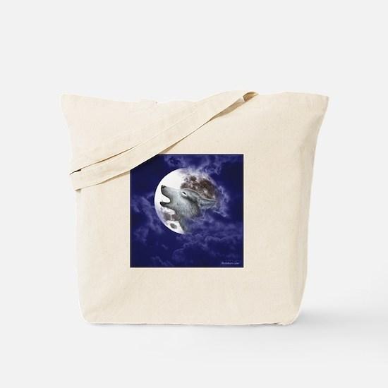 Moon Wolf ~ Tote Bag