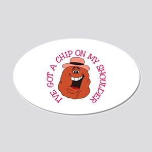 Chip On My Shoulder Wall Decal