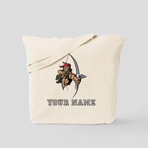 Native American Warrior (Custom) Tote Bag