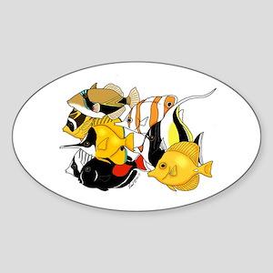 Hawaiian Fish Sticker