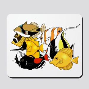 Hawaiian Fish Mousepad