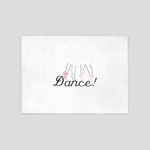 Dance! 5'x7'Area Rug