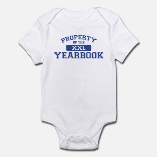 Property Of The Yearbook XXL Infant Bodysuit