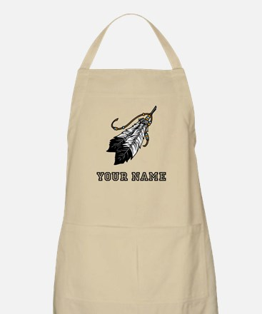 Native American Feathers (Custom) Apron