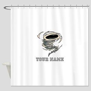 Tornado (Custom) Shower Curtain