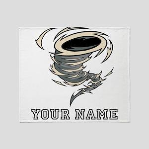 Tornado (Custom) Throw Blanket