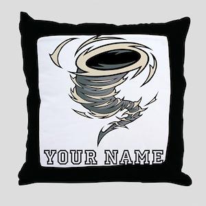 Tornado (Custom) Throw Pillow