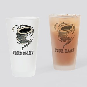 Tornado (Custom) Drinking Glass