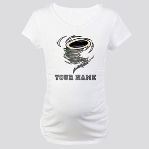 Tornado (Custom) Maternity T-Shirt