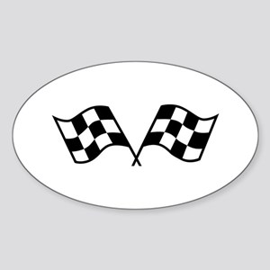 Checkered Racing Flags Sticker