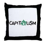 Anarcho-Capitalist Throw Pillow