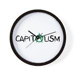 Anarcho-Capitalist Wall Clock