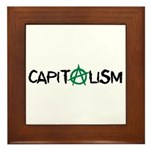 Anarcho-Capitalist Framed Tile