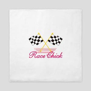 Race Chick Queen Duvet