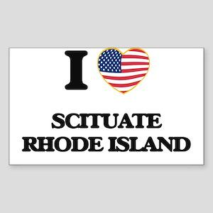 I love Scituate Rhode Island Sticker