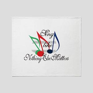 Sing Like… Throw Blanket