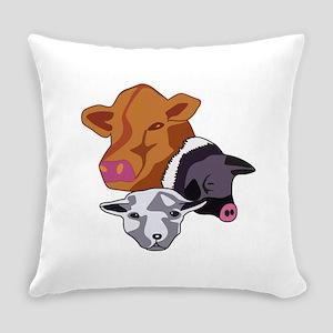 Farm Animals Everyday Pillow