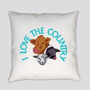 Love the Country Everyday Pillow